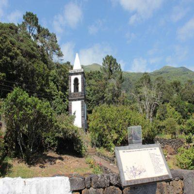 Церковь Урзелина Остров Сан Жоржи Азорские острова Португалия