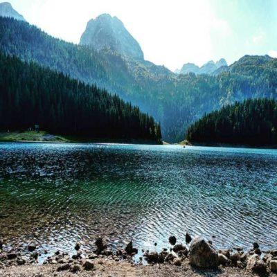 Черное озеро Национальный парк Дурмитор Черногория