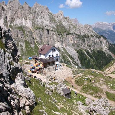 Горный дом Vajolet Hütte