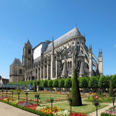 Буржский собор Долина Луары Франция