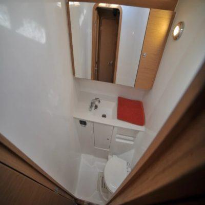 Ванная комната на яхте Испания