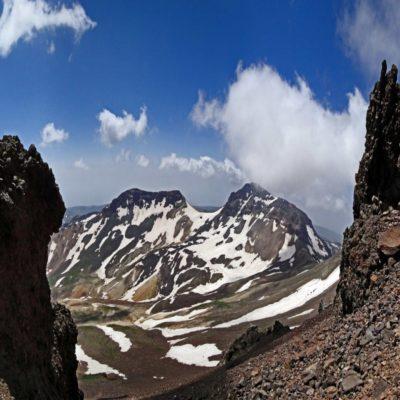 Гора Арагац Армения
