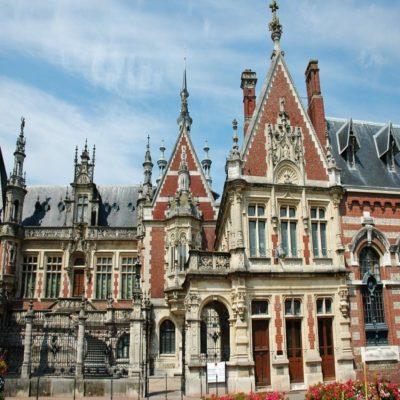 Дворец Бенедиктин Нормандия Франция