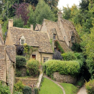 Деревня Байбери Англия Великобритания