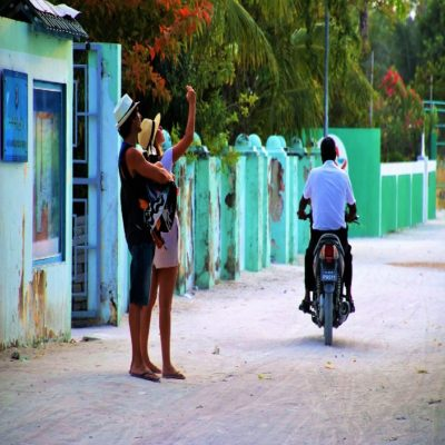 Деревня Мальдивы