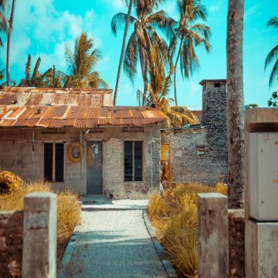 Заброшенный дом Мальдивы