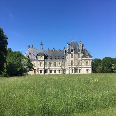 Замок Менту Салон Долина Луары Франция