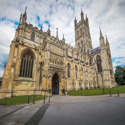 Кафедральный собор Глостера Англия Великобритания