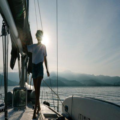 На яхте Испания