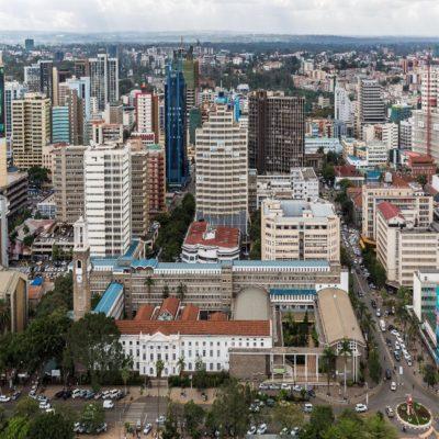 Небоскребы Найроби Кения