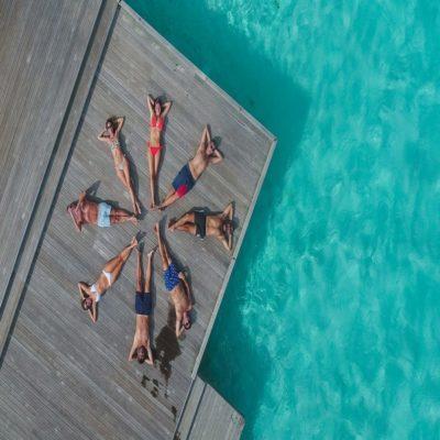 Отдых на берегу Мальдивы