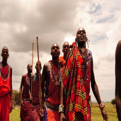 Племя масаев Кения