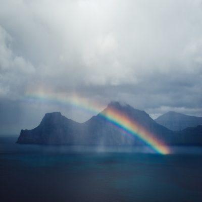 Радуга Фарерские острова
