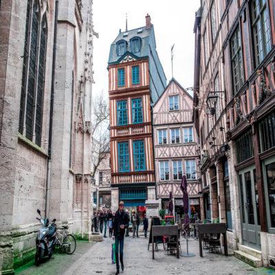 Руан Нормандия Франция