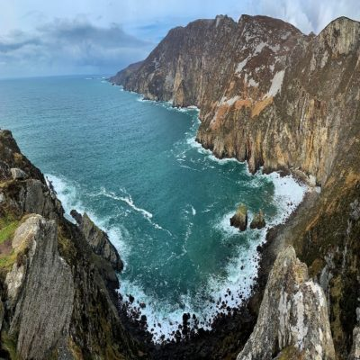 Скалы Слив Лиг Ирландия