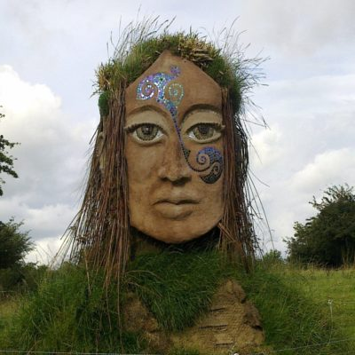 Холм Уснех - место проведения фестиваля Белтейн Ирландия