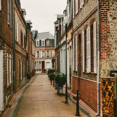 Этрета Нормандия Франция