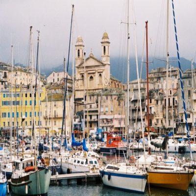 Бастия Франция Яхтинг
