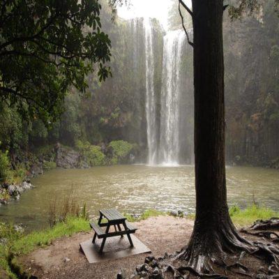 Водопад Фангареи Новая Зеландия