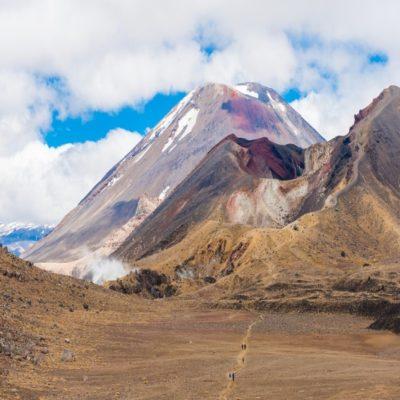 Восхождение на Огненную гору в Тонгариро Новая Зеландия