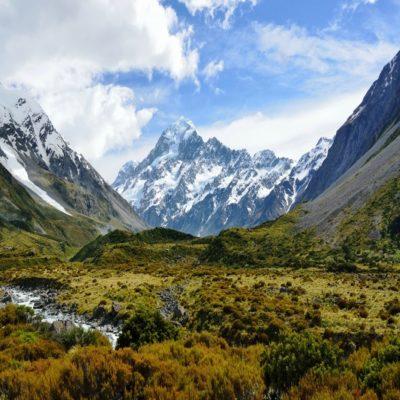 Гора Кука Новая Зеландия