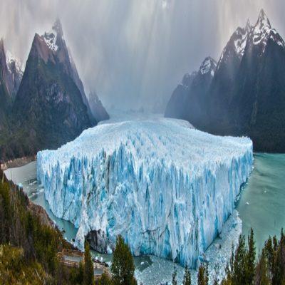 Для оформления Ледник Перито Морено в озере Лаго Архентино Патагония Аргентина