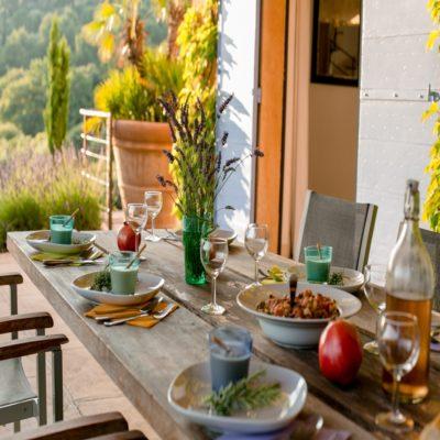 Завтрак Прованс Франция