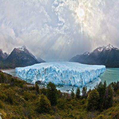 Ледник Перито Морено в озере Лаго Архентино Патагония Аргентина