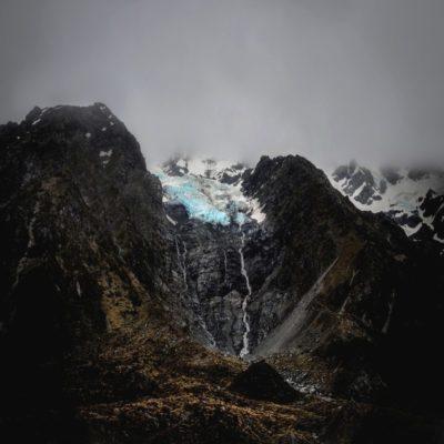 Ледник Хукер Новая Зеландия