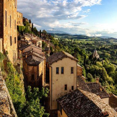 Монтепульчано Тоскана Италия