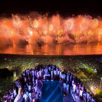 Новый год в Рио де Жанейро Бразилия