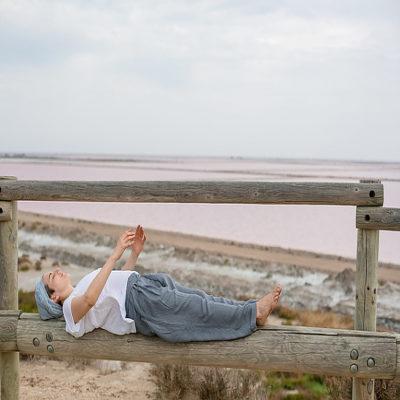 Отдых на камаргском пляже Прованс Франция
