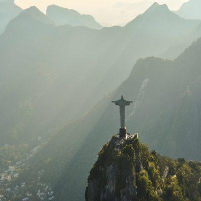Статуя Христа Спасителя в Рио-де-Жанейро Бразилия