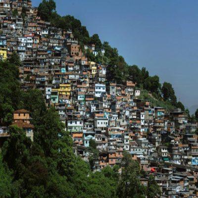 Фавелы в Рио-де-Жанейро Бразилия