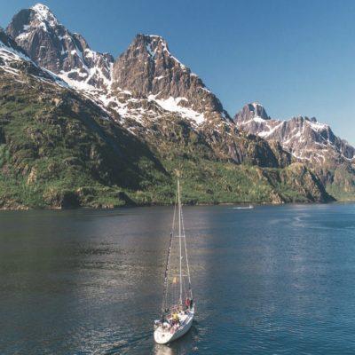 Яхтинг по фьордам Норвегия