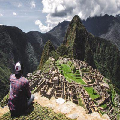 Вид с горы Уайна-Пикчу Перу