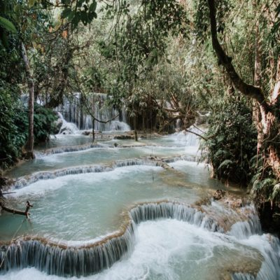 Водопад Тат Куанг Си Лаос