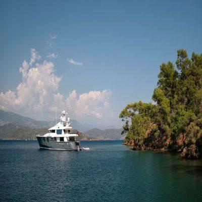 Гечек Турция яхтинг