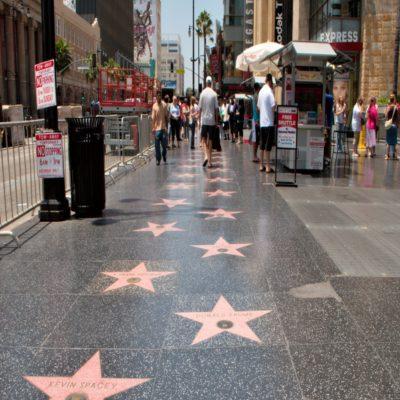 Голливудская аллея славы Лос-Анджелес США