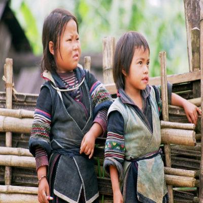 Дети Сапа Вьетнам