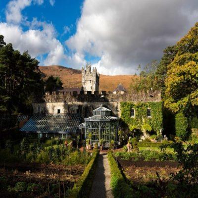 Замок Гленвей Ирландия