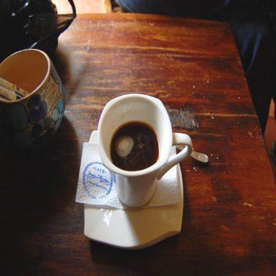 Кофе в Саленто Колумбия