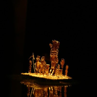 Музей золота в Боготе Колумбия