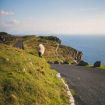 На пути к Слив-Лиг Ирландия