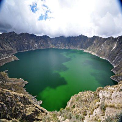 Озеро Килотоа Эквадор