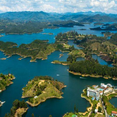 Озеро Пеньоль Колумбия