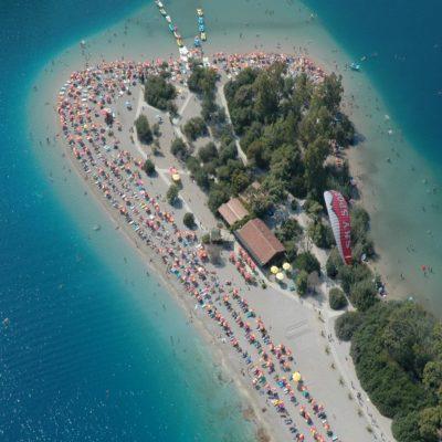 Олюдениз Турция яхтинг