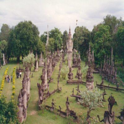 Парк Будды во Вьетньяне Лаос