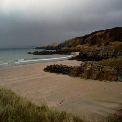 Пляж возле парка Ардс Форест Ирландия