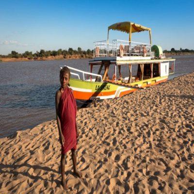 Река Тзирибиина Мадагаскар